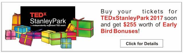 TEDxStanleyPark Early Bird Offer