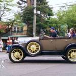 Antique Car in Historic Town