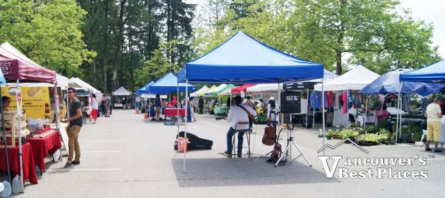 Burnaby Market Vendor Stalls