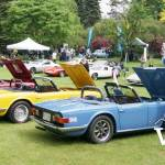 Classic British Cars at VanDusen Garden
