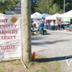 Farmers Market Day in Fort Langley