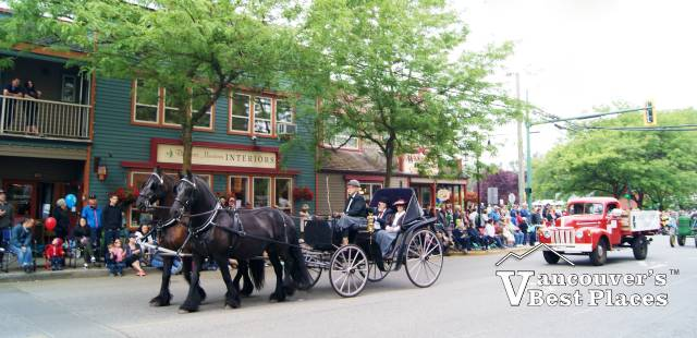 Fort Langley May Day Parade