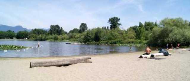 Trout Lake at John Hendry Park