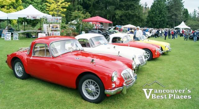 VanDusen Garden at British Car Meet