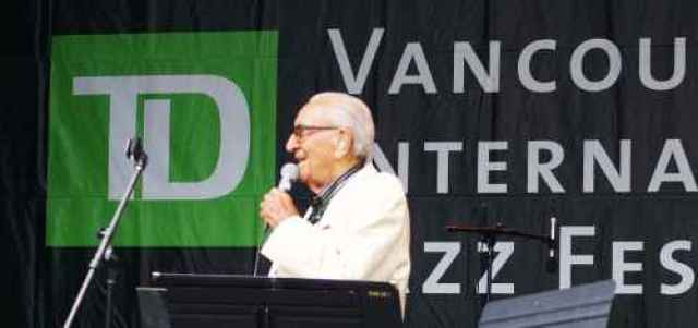 Dal Richards at TD Jazz Festival