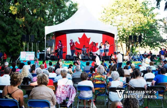 Canada Day in West Vancouve