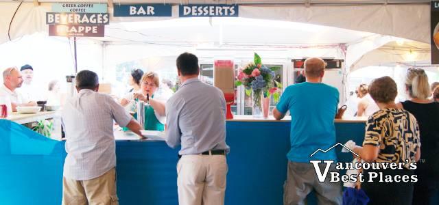 Greek Food Festival Ordering Station