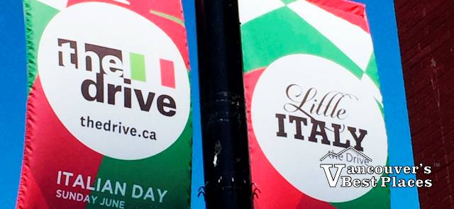 Italian Day Vancouver Silhouette