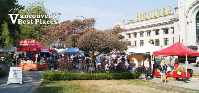 Main Street Farmers Market at Pacific Central Station