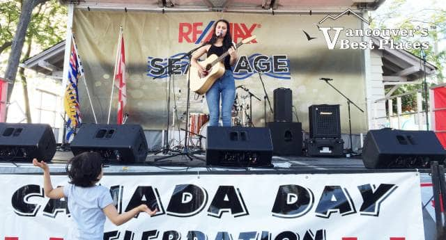 Steveston Canada Day Stage