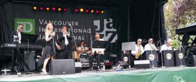 TD Jazz Festival and Dal Richards Band