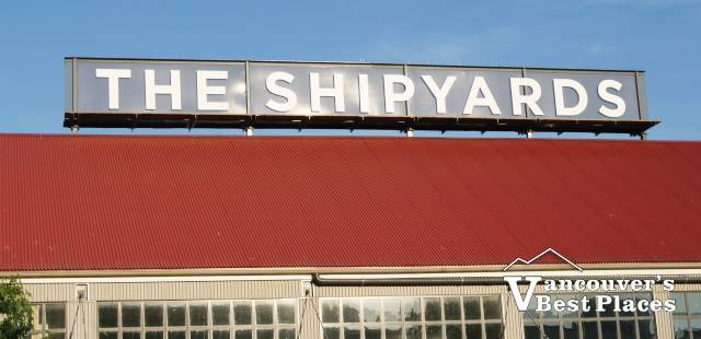 The Shipyards Sign