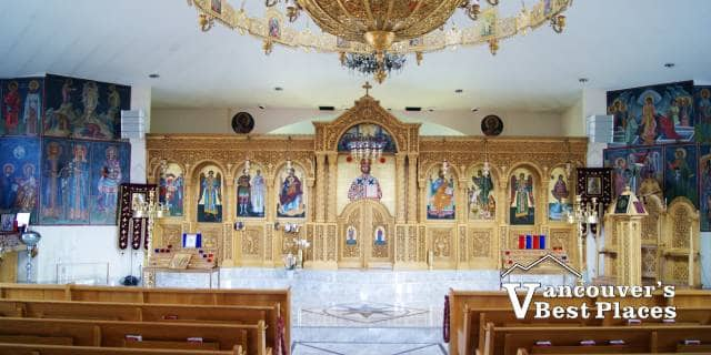 Greek Orthodox Church Interior