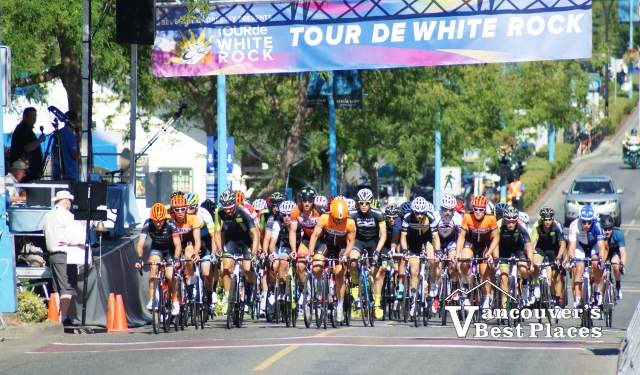 Tour de White Rock Start Line