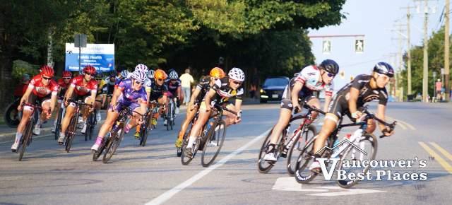 Women Cyclists at Tour de Delta