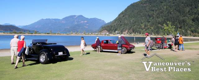 Lakeside Car Show at Harrison Hot Springs