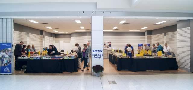 Rotary Used Book Sale Venue