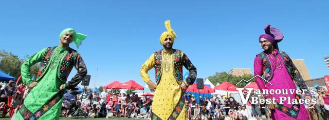 Vancity Bhangra at Richmond World Festival