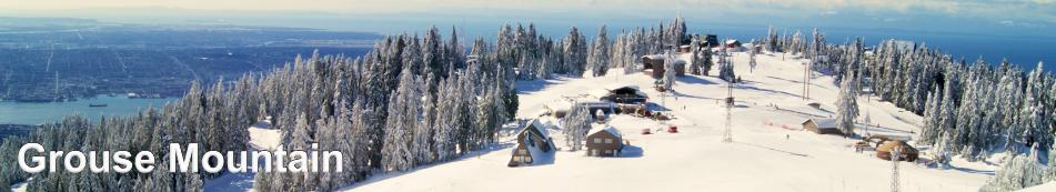 Grouse Mountain in Winter