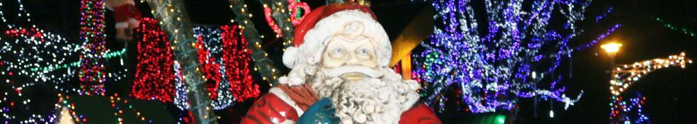 Santa at Stanley Park Bright Nights
