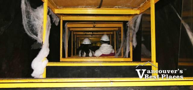 Britannia Mine Railway at Halloween