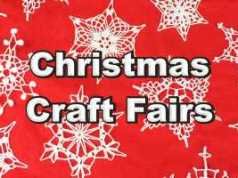 Vancouver Christmas Craft Fairs
