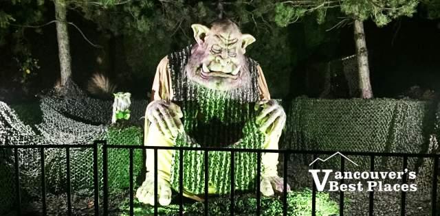 PNE Fright Nights Sleeping Beast