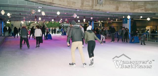 Robson Square Ice Skating