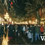 Yule Duel Crowds in Gastown