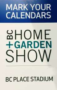 Home and Garden Show Sign