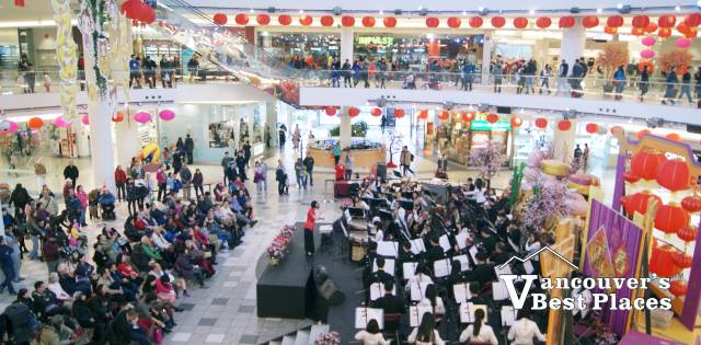 Aberdeen Centre at Chinese New Year