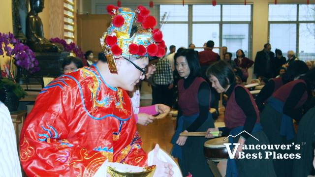 Chinese New Year at Dharma Centre