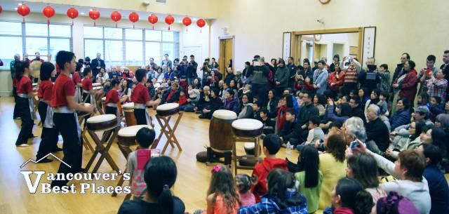 Dharma Drum Centre Crowd