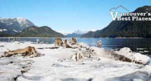 Ice at Stave Lake