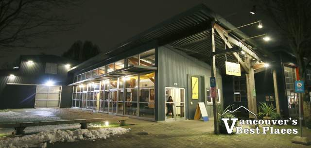 Performance Works Theatre at Night
