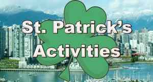 St. Patrick's Activities in Vancouver