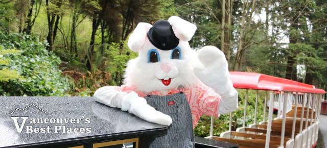 Easter Bunny at Stanley Park