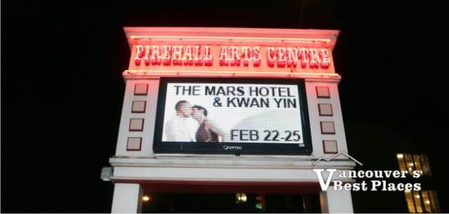 Firehall Arts Centre Theatre
