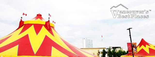Circus Big Top in Surrey