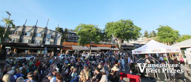 White Rock Concert Crowds