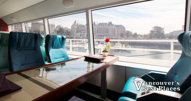 First Class Seats on V2V Ferry