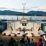 Kitsilano Showboat Venue and English Bay