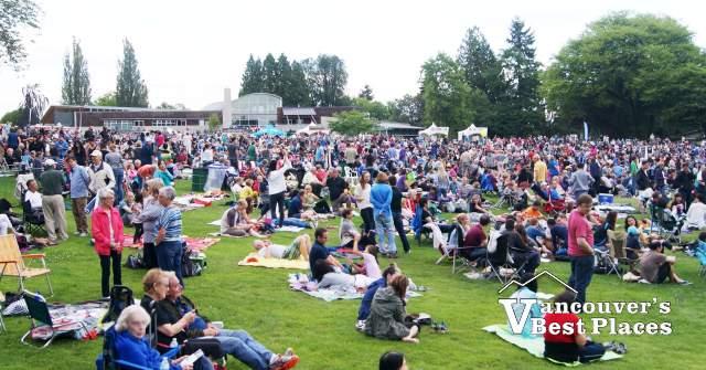 Symphony Audience at Deer Lake