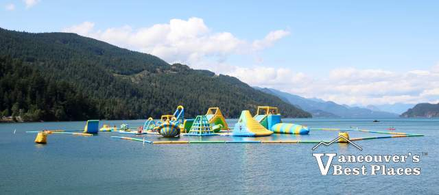 Water Park at Harrison Lake