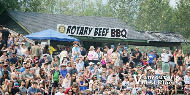 Rotary Beef BBQ and Squamish Crowds