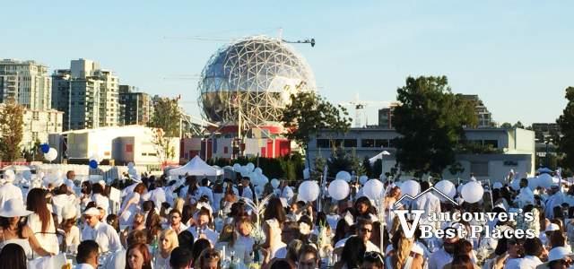 Diner en Blanc in Vancouver