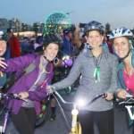 Bike the Night Cyclists
