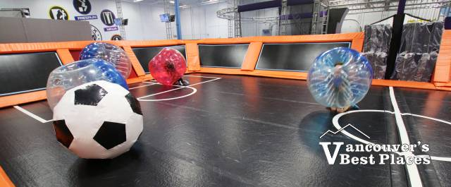 Bubble Soccer at Apex Trampolines