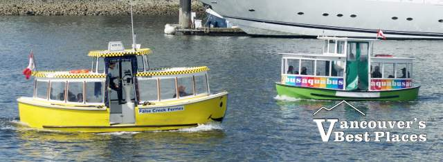 False Creek Ferry and Aquabus