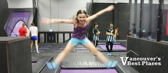 Leaping High at Apex Trampoline Plex